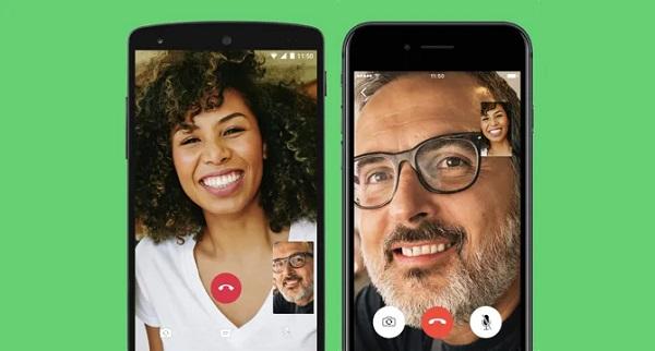 میزان مصرف اینترنت تماس تصویری واتساپ