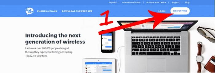 نحوه ساخت شماره مجازی از طریق سایت textnow :