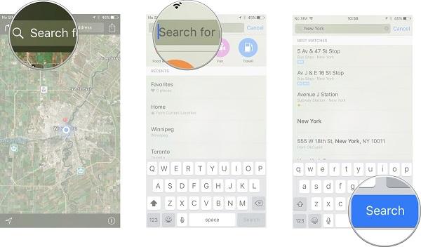 چگونه یک تور هوایی به کمک Maps داشته باشیم؟
