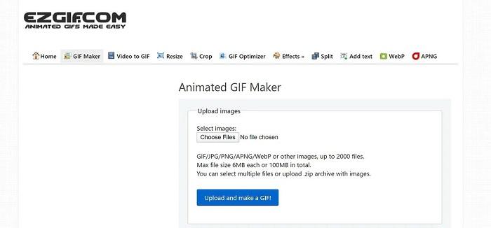 تبدیل عکس به GIF آنلاین