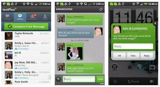 برنامهTextPlus(ساخت رایگان شماره تلفن مجازی آمریکا)