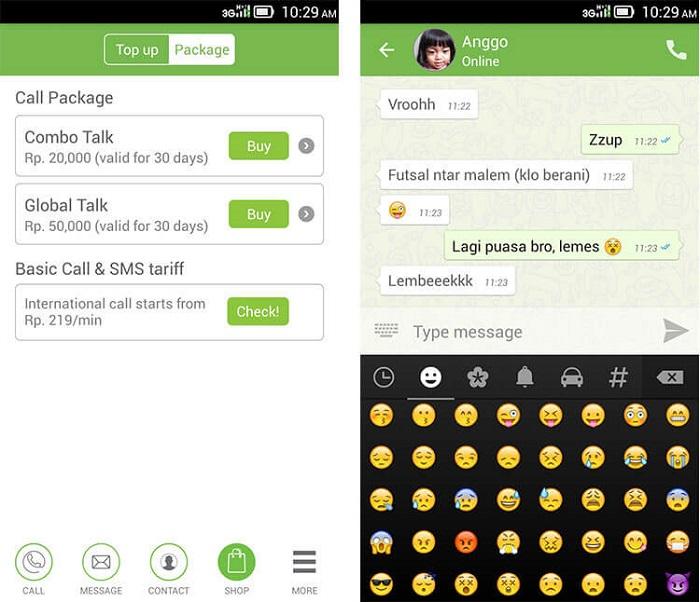 برنامهESIAtalk(ساخت رایگان شماره تلفن مجازی اندونزی)