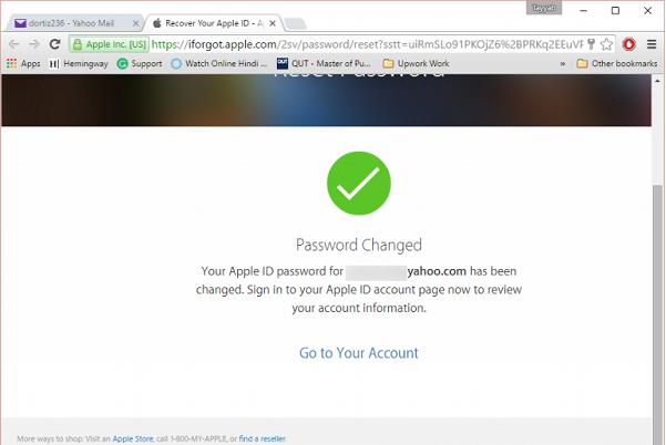 رفع مشکلYour Apple ID has been disabled اپل آیدی از طریق سایت