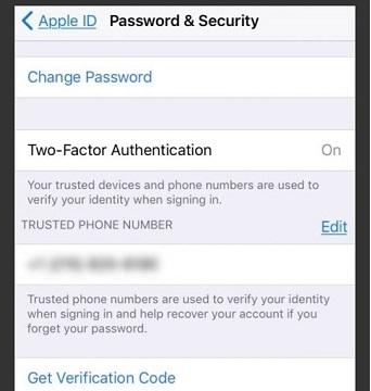 احراز هویت دو مرحله ای برای حل مشکل Apple ID Disabled