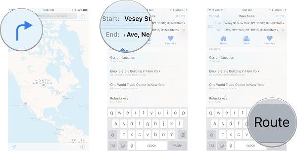 چگونه نقشه سه بعدی را در Maps انتخاب کنیم؟