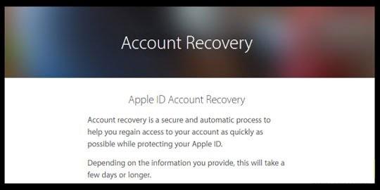 حل مشکل Apple ID Disabled با قابلیت بازیابی حساب کاربری