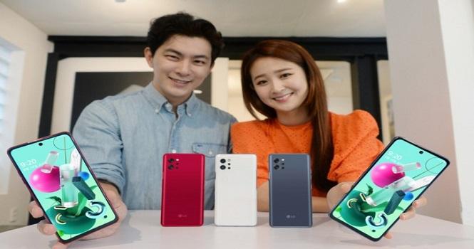 ال جی Q92 رسما رونمایی شد ؛ گوشی فایوجی 400 دلاری با دوربین چهارگانه