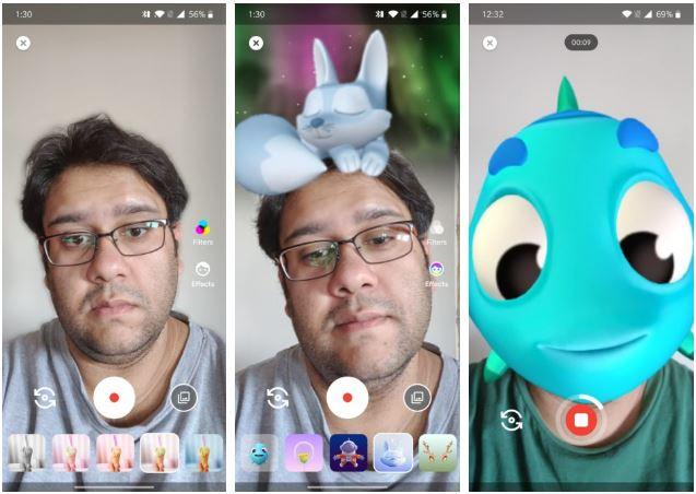 آموزش کار با گوگل دوو : نحوه ضبط پیام صوتی و تصویری