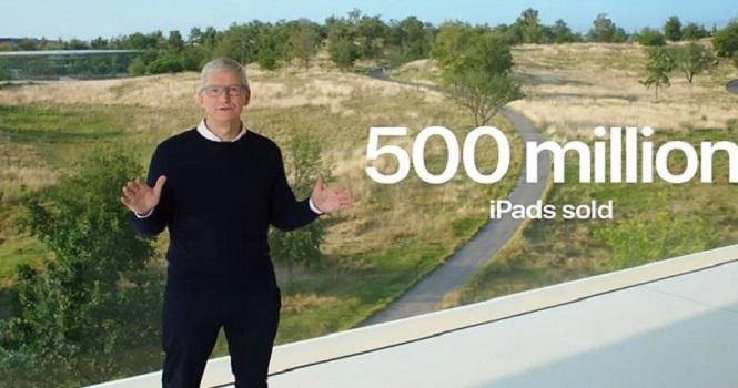 در دهه 2010 بیش از نیم میلیارد آیپد به فروش رفته است !