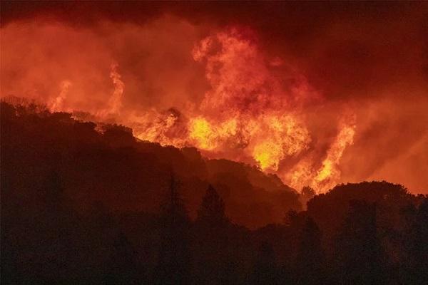 بزرگترین آتش سوزی تاریخ جهان