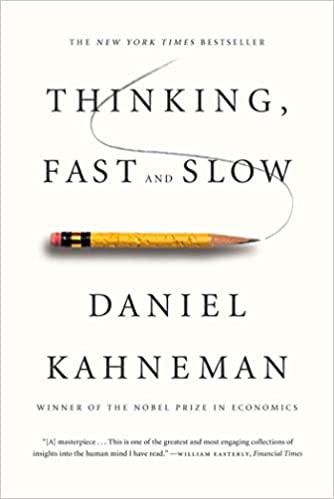 تفکر سریع و آهسته (Thinking Fast & Slow) از دنیل کانمن