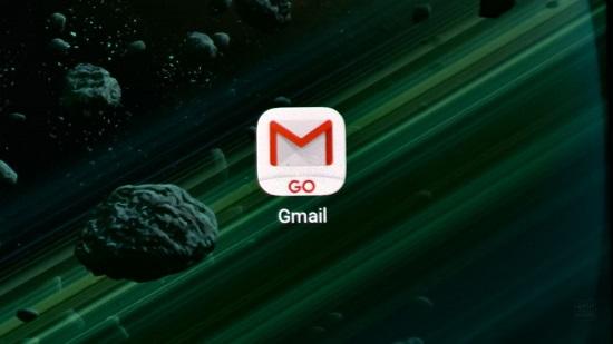 گوگل از نرم افزار Gmail Go رونمایی کرد