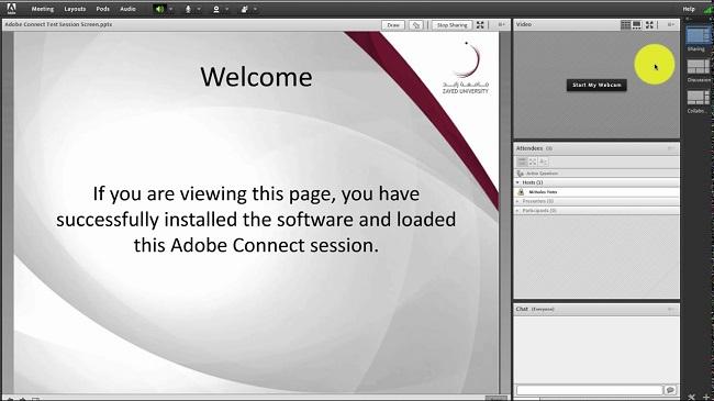 ساخت کلاس مجازی در ادوبی کانکت
