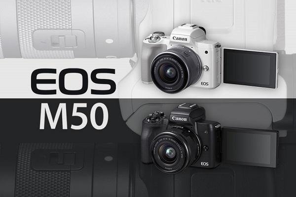 رونمایی از دوربین کانن EOS M50 Mark II