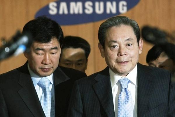 رئیس سامسونگ درگذشت