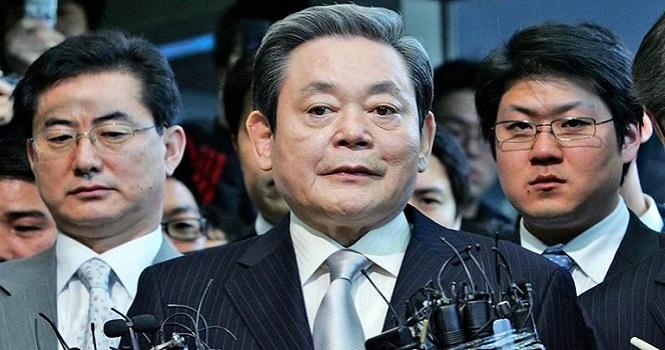 رئیس سامسونگ درگذشت ؛ ثروتمندترین شهروند کره جنوبی درگذشت