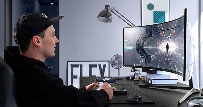 آینده ورزشهای الکترونیکی با نمایشگرهای ۴۹ اینچی سامسونگ سری اودیسه