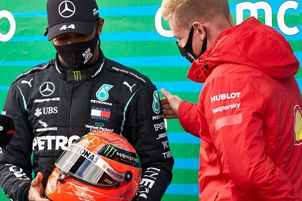 شوماخر به رده دوم پرافتخارترین رانندگان فرمول یک رفت