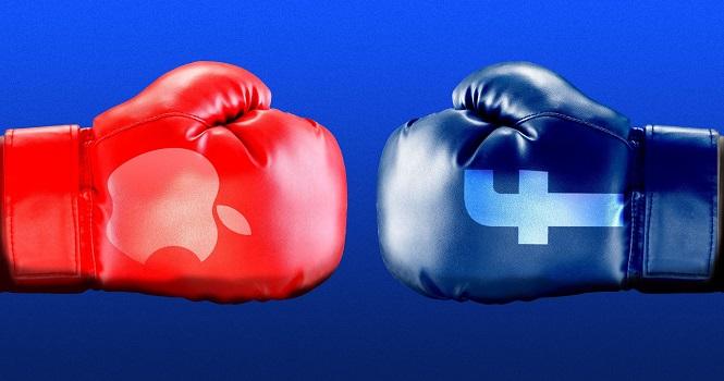 نزاع جدی اپل و فیسبوک بر سر نقض حریم خصوصی