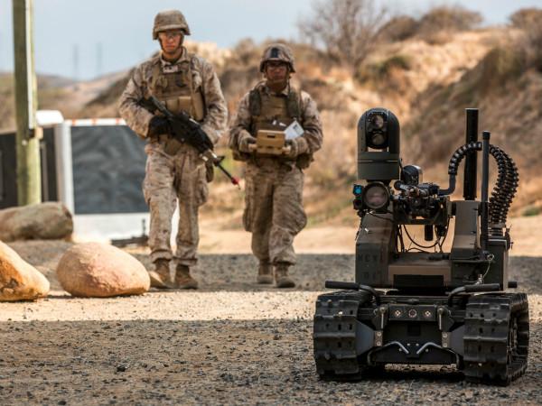 ربات های سرباز
