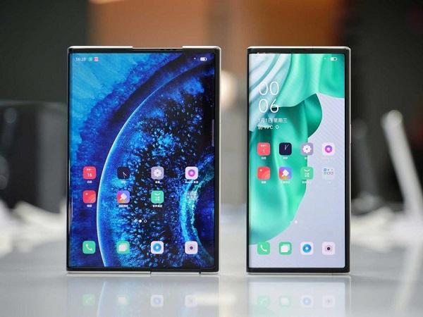 گوشی Oppo X 2021 با صفحه نمایش منعطف