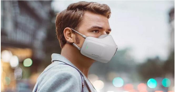 ماسک ضد کرونا ال جی (LG) معرفی شد ؛ مقاومت 99 درصدی نسبت به ویروس