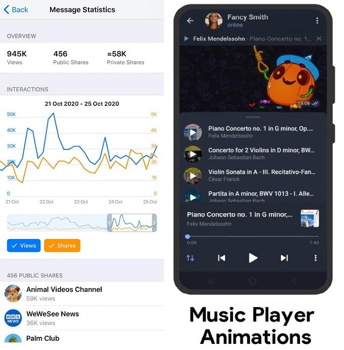 ساخت پلی لیست در تلگرام