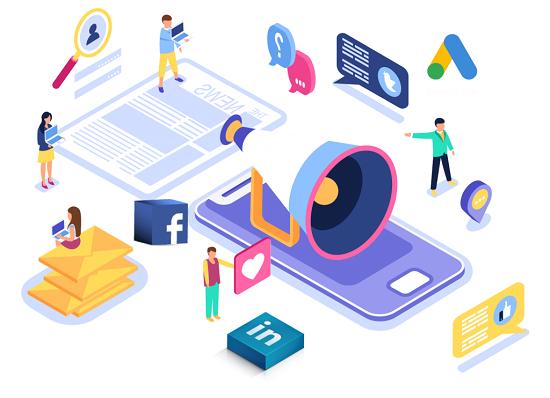 افزایش سود گوگل، فیسبوک و آمازون از تبلیغات آنلاین