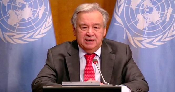 گوترش: دنیا باید وضعیت اضطراری اعلام کند!