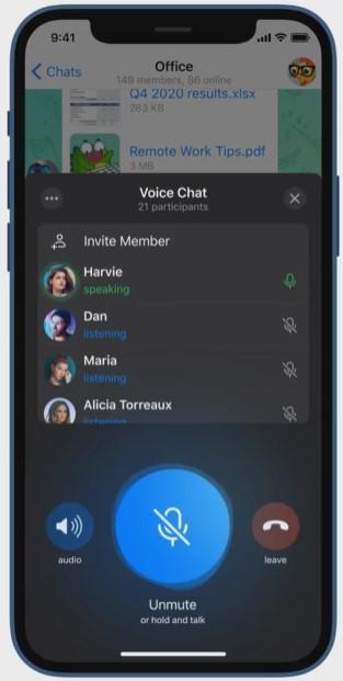 ویس چت تلگرام چیست و چگونه از آن استفاده کنیم؟ویس چت تلگرام چیست و چگونه از آن استفاده کنیم؟