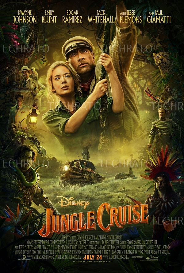 گشت و گذار در جنگل 2021 (Jungle Cruise)