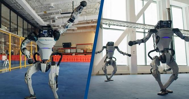 رقص کریسمس ربات های بوستون داینامیکس را ببینید!