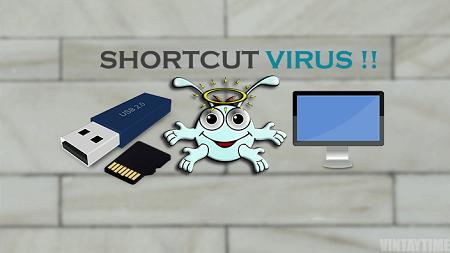 نحوه حذف ویروس شورتکات از کامپیوتر