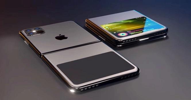 تصاویری که احتمالا نخستین آیفون تاشو اپل را نشان میدهند