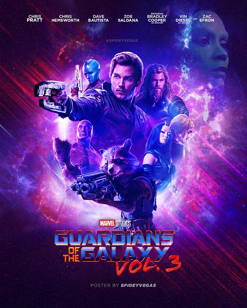 نگهبانان کهکشان 3(3 Guardians of the Galaxy)