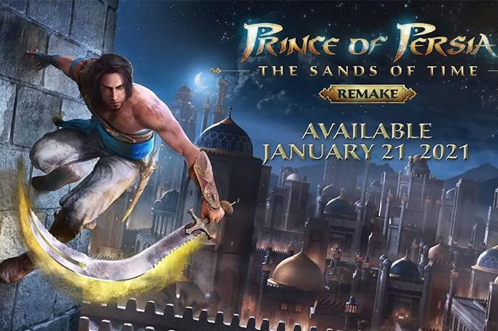 شاهزاده ایرانی: ریمیک شن های زمان - بهترین بازی های PS4 در سال ۲۰۲۱