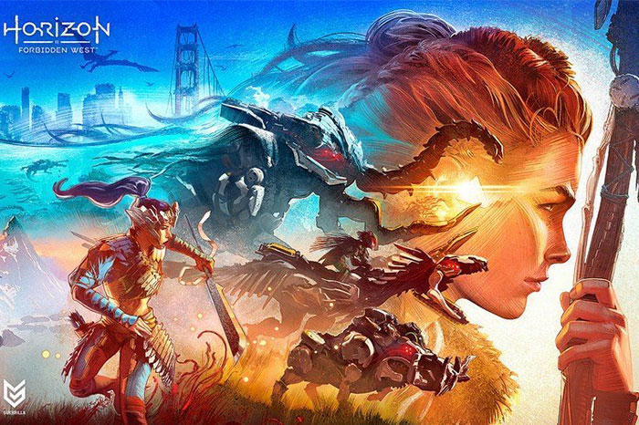 Horizon Forbidden West - بهترین بازی های PS4 در سال ۲۰۲۱