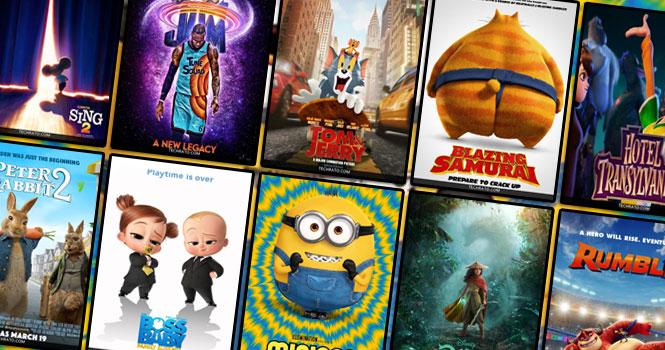 بهترین انیمیشن های 2021/تاریخ اکران بهترین کارتون ها و انیمیشن های جدید سال 2021