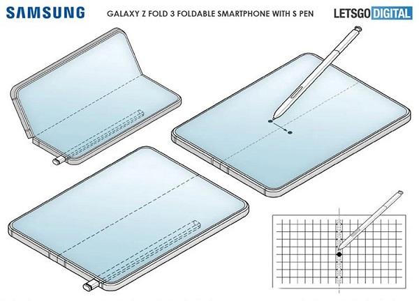 قلم S-Pen : مشخصات فنی و قیمت گلکسی زد فولد 3 (Galaxy Z Fold)