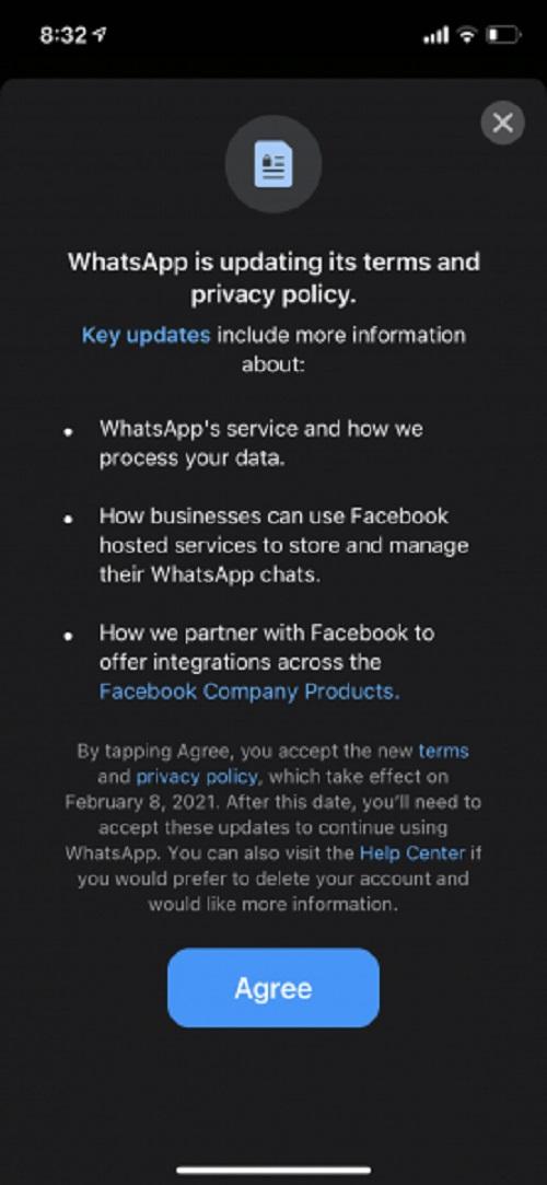 امنیت واتساپ چقدر است؟