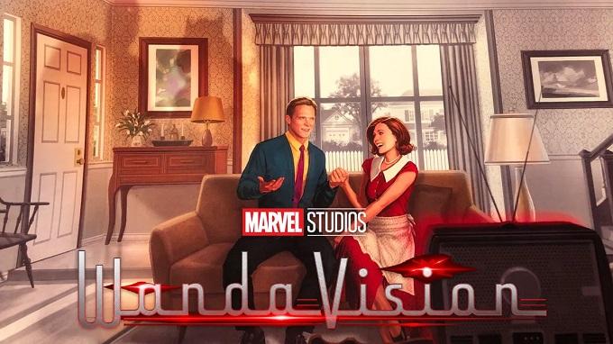 یکی از اولین پوسترهای سریال وانداویژن (WandaVision)