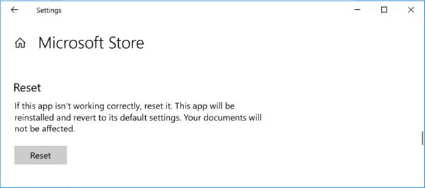 ریست کردن مایکروسافت استور برای رفع مشکلات مایکروسافت استور