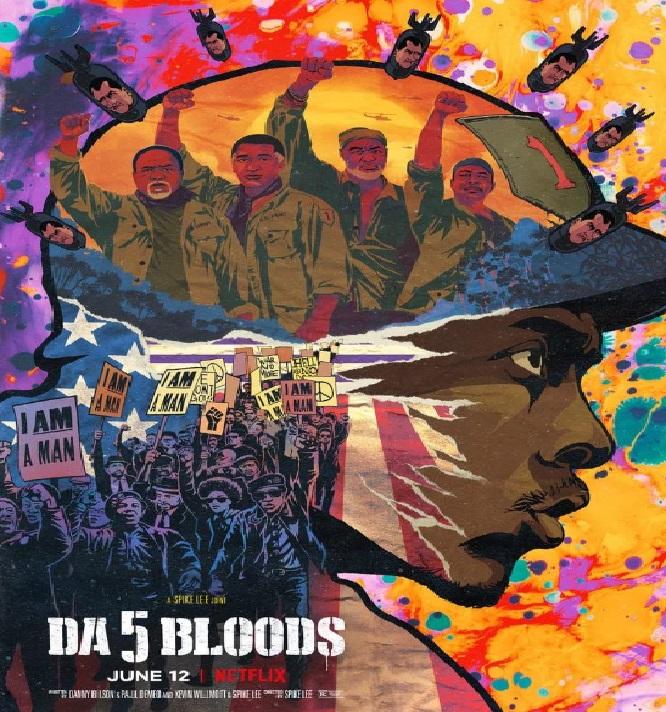 پوستر فیلم ؛ نقد فیلم Da 5 Bloods 2020 (پنج همخون)