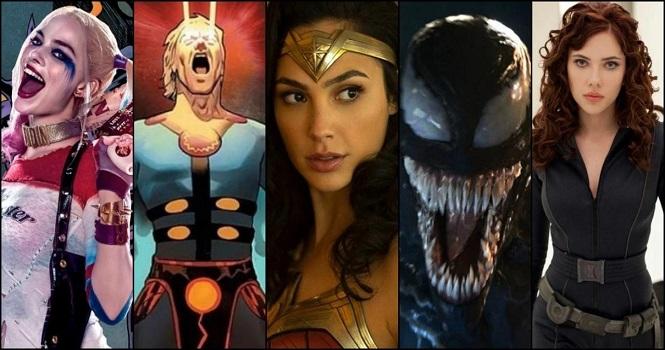 بهترین فیلم های ابرقهرمانی 2021 ؛ از لیگ عدالت تا اترنالز