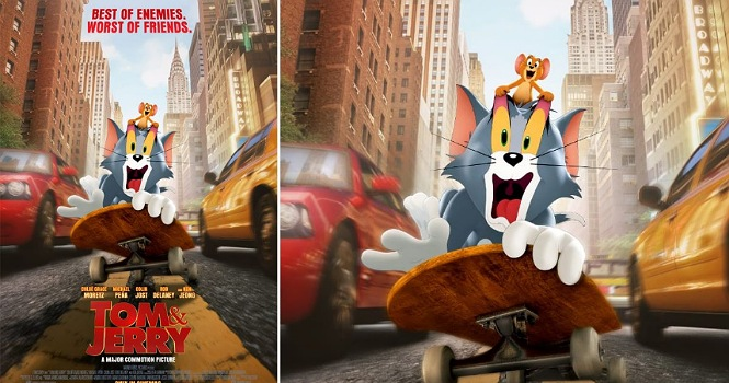نقد فیلم تام و جری 2021 (Tom and Jerry) : تام و جری شکست خوردند!