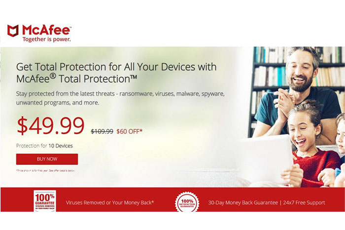 McAfee Mobile Security for Android بهترین آنتی ویروس اندروید 2021