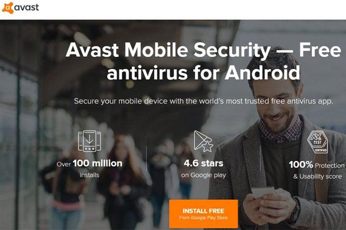 Avast Mobile Security بهترین آنتی ویروس اندروید 2021
