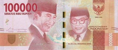 روپیه اندونزی