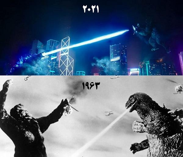 برنده کدام است؟ ؛ نقد فیلم Godzilla vs Kong 2021
