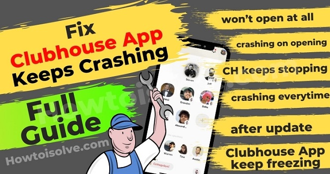 رفع مشکل کلاب هاوس ؛ آموزش تنظیم و رفع مشکلات Clubhouse